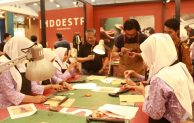 Anak Panti Asuhan Ikuti Workshop 'Leather Pencil Case Making' di BCA Expoversary 2019