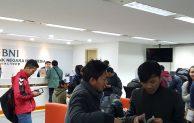 Kehadiran BNI Seoul Korea disambut Positif TKI