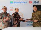 Belanja Makin Mudah, BNI dan FamilyMart Luncurkan Kartu Co Branding