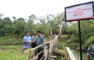 Bantu Logistik Bahan Pangan BNI Bangun Jembatan di Sumatera Barat