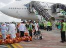 Kloter Pertama Jemaah Haji NTB diberangkatkan dari LIA