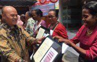 Pasar Rakyat Paliwadan Flores Timur NTT dan Tiga Sarana Usaha  diresmikan