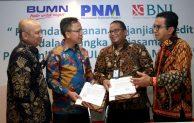 BNI Salurkan Kredit Rp 300 Miliar ke UMKM Melalui PNM