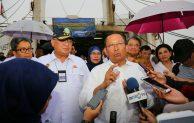 Pelayaran Perdana Angkutan Jarak Jauh Lintas Jakarta-Surabaya diresmikan