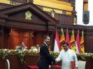 Penandatanganan MoU Basarnas dengan Negara Sri Lanka