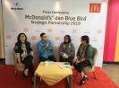 Blue Bird dan McDonald's Indonesia Kerjasama Tingkatkan Pelayanan dan Keuntungan bagi Pelanggan dan Pengemudi