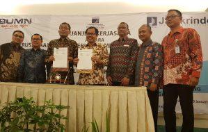 Perum Jamkrindo dan LPDB KUMKM Kerja Sama Penjaminan Pinjaman Langsung dan Tidak Langsung pada KUMKM
