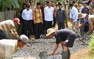 Kemendes Terus Gerakkan Ekonomi Desa Lewat Padat Karya
