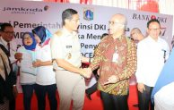 Bank DKI Sinergi Dengan OK OCE : Gelar Akad Kredit Massal Kepada UMKM Pemula