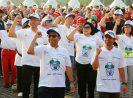 Ramaikan Senam Kolosal HUT ke- 50 BPJS Kesehatan, BRI Raih Penghargaan