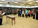 Sesmenkop dan UKM Lantik 13 Pejabat Fungsional Baru