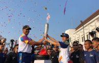 Dukungan Total BNI Terhadap Asian Games 2018, Awali Kirab Obor dari Titik Nol Yogyakarta