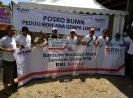 Bantu Korban Gempa Lombok,  BNI & BNI Life Bangun Posko Kesehatan & Dapur Umum