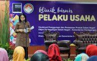 Bintang Puspayoga Buka Pelatihan Klinik Bisnis Pelaku Usaha Kuliner