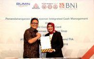 BNI Berikan Solusi Keuangan Menyeluruh Bagi Semen Indonesia Group