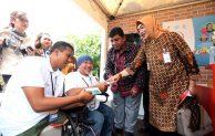 Mensos Sebut BNI Bank Ramah Penyandang Disabilitas