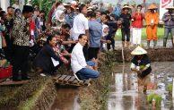 Presiden Pimpin Gerakan Kawal Musim Tanam OKMAR 2018/2019 di Garut, Jawa Barat