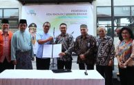 UKM Berbasis Bioteknologi Kelautan dan Perikanan Dikembangkan di Kampong Edu Ekologi Teripang Mas Kepri