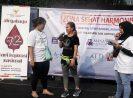 Pemilihan Peserta senam Terheboh dan Kuiz Meriahkan Peringatan Harkopnas ke-72 di CFD Jakarta