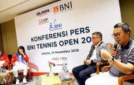 BNI Tennis Open 2019 Siap Dimulai, Ajang Pemanasan Pemain Pelatnas Sebelum Sea Games Manila
