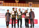 Terapkan Keterbukaan Informasi, Laporan Tahunan Bank DKI Raih Annual Report Awards 2018