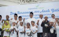 Sambut Pengoperasian Terminal Baru Bandara Syamsudin Noor, Angkasa Pura I Gelar Kegiatan Doa Bersama 2.000 Anak Yatim