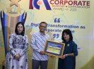 BNI Syariah Raih 1st Best Indonesia Corporate Secretary & Corporate Communication 2020 dari Economic Review