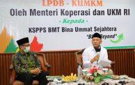 MenKopUKM Ingin KSPPS BMT BUS Rembang Fokus Garap Sektor Pertanian dan Kelautan