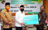 MenkopUKM Serahkan Bantuan Masker