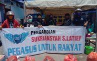 Setelah Bantu Penderita Kanker, Kini Pegasus Bantu Korban Kebakaran Di Maccini Kidul Makassar