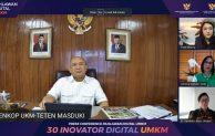 "Sebanyak 30 Inovator Muda Terpilih Ikut ""Bootcamp"" Pahlawan Digital UMKM"