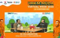 UMKM MUDA Virtual Week, BNI Perkenalkan Rumah BUMN Untuk Milenial