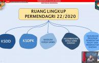 Sosialisasi Permendagri no 22 Tahun 2020 dan Sosialisasi Pedoman Pemetaan Urusan Pemerintahan dalam Rangka Kerja Sama Daerah