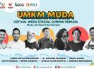 BNI Gelar UMKM Muda Virtual Week Spesial:Ini Wajah Wirausaha Sosial di Hari Sumpah Pemuda