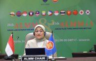 Menaker Ida Fauziah, Terpilih Sebagai Ketua Menteri Ketenagakerjaan  se-ASEAN