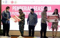Berprestasi,2.200 Anak TNI Polri Raih Dana Pendidikan BUMN
