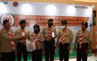 Bank DKI Ajak Pramuka Jaksel Peduli Lingkungan Dengan JakOne Artri