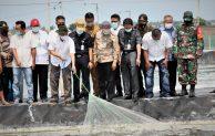 Panen Udang Vaname di Lahan Perhutanan  Sosial di Muara Gembong Bekasi, KemenkopUKM – KKP Siap Fasilitasi Pengembangan Usaha dan Offtaker Udang
