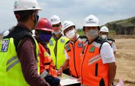 Direksi Angkasa Pura I Kunjungi Proyek Pembangunan Bandara Dhoho