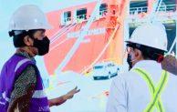 Presiden Jokowi Resmikan Beroperasinya Pelabuhan Patimban Subang