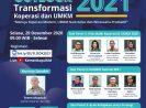 2021, UMKM Harus Konsolidasi, Digitalisasi, Kreatif, dan Inovatif Berbasis Riset