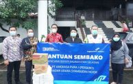 Angkasa Pura I Berikan Bantuan kepada Korban Banjir Banjar dan Manado