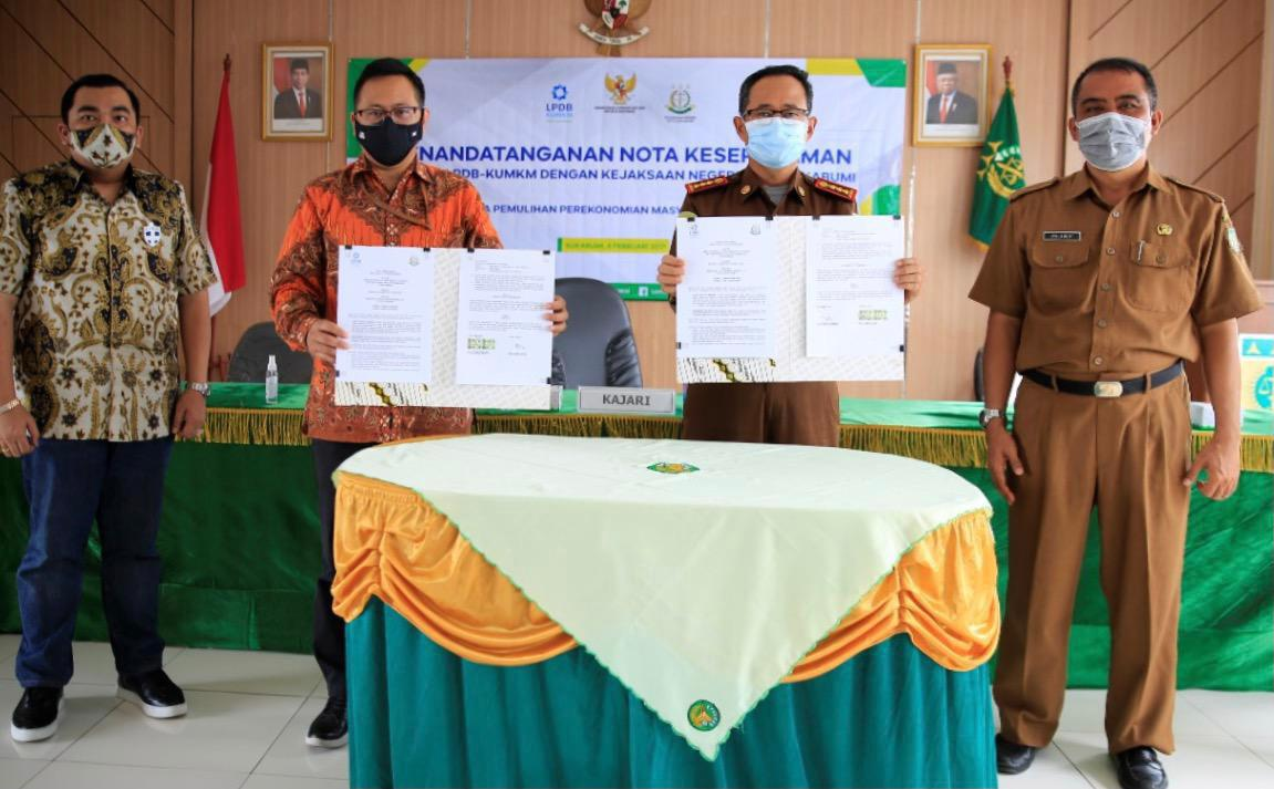 Teken MoU Dengan Kejari Kota Sukabumi, LPDB-KUMKM Komitmen ...
