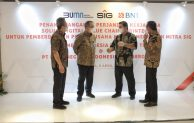 Berdayakan Pelaku UKM Mitra, BNI – PT Semen Indonesia (Persero) Tbk kembangkan Solusi Digital Value Chain Terintegrasi