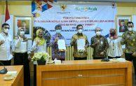 Deputi Bidang Usaha Mikro dan Bank Aceh Syariah Tandatangani PKS  tentang Penyaluran BPUM di Aceh