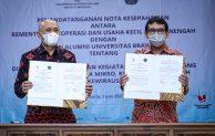 MenkopUKM Gandeng Ikatan Alumni Universitas Brawijaya, Bangun Future SMEs Berdaya Saing Tinggi