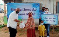Kanwil BRI Jakarta II Salurkan Sembako ke Anak Yatim dan Lansia di Desa Cidokom, Bogor