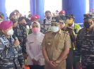 TNI AL- KKP Wilayah II Banten-Kemenhub dan ASDP Gelar Serbuan Vaksin Covid-19