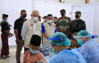 LPDB-KUMKM Bersama BMT Beringharjo Gelar Vaksinasi Massal bagi 1.000 Pelaku UMKM dan Masyarakat Kulon Progo