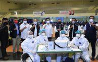 OJK Gelar Vaksinasi Covid-19 di Surabaya dan Dorong Penyaluran KUR Klaster  Pertanian di Kab Malang